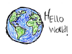 Здравствуй, мир