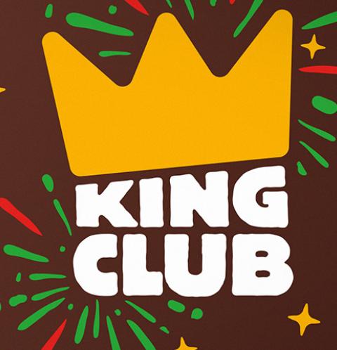 """Кинг Клаб"" -- еда за короны в БК"