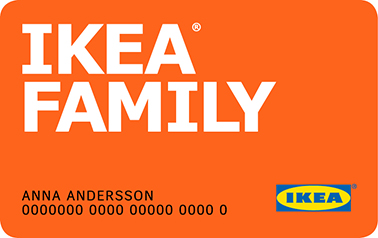 Бонусная карта IKEA FAMILY