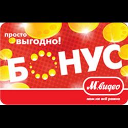 М.Видео бонусная карта